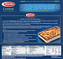 Amazon.com: Customer Reviews: Barilla Pasta, Oven-Ready