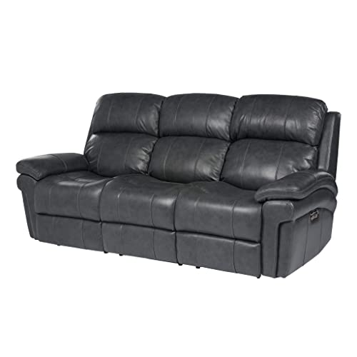 Sunset Trading Luxe Leather Reclining Sofa