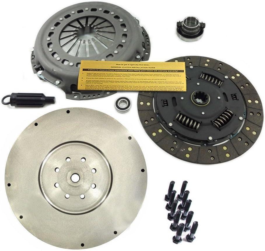 Amazon Com Eft Clutch Kit Hd Flywheel For Dodge Ram 5 9l 6 7l Cummins Turbo Diesel 6 Speed Automotive