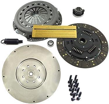 Amazon Com Eft Clutch Kit Hd Flywheel For Dodge Ram 5 9l 6 7l