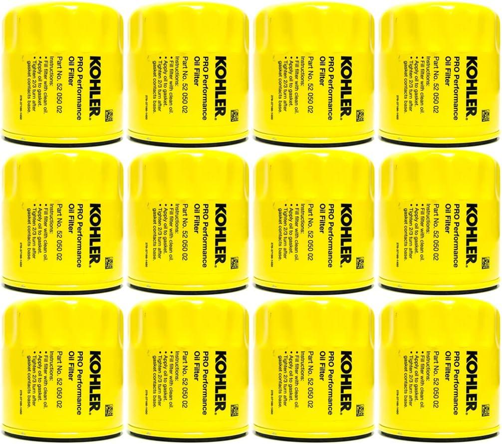 12pk-Oil Filter Fits Ariens Bad Boy BobCat Briggs Gravely Kubota John Deere Toro