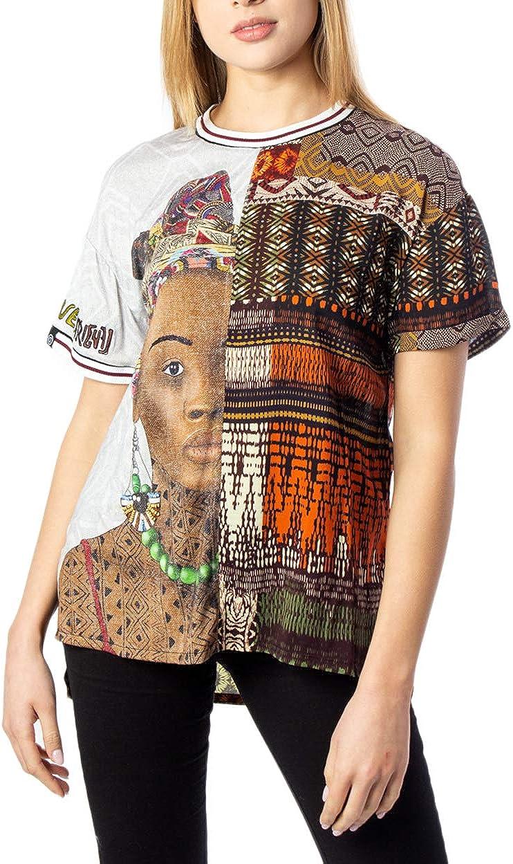 Desigual Blusa Pisa marrón para Mujer.: Amazon.es: Ropa y accesorios