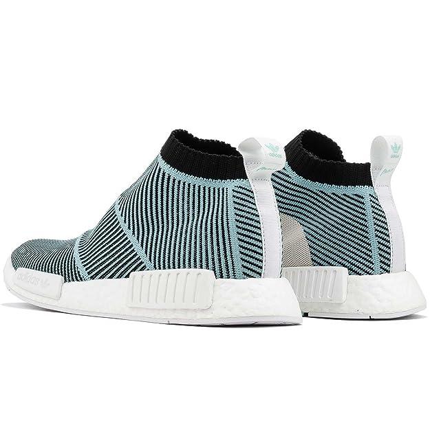 Amazon.com | adidas Mens NMD_CS1 Parley PK Black/White AC8597 | Fashion Sneakers