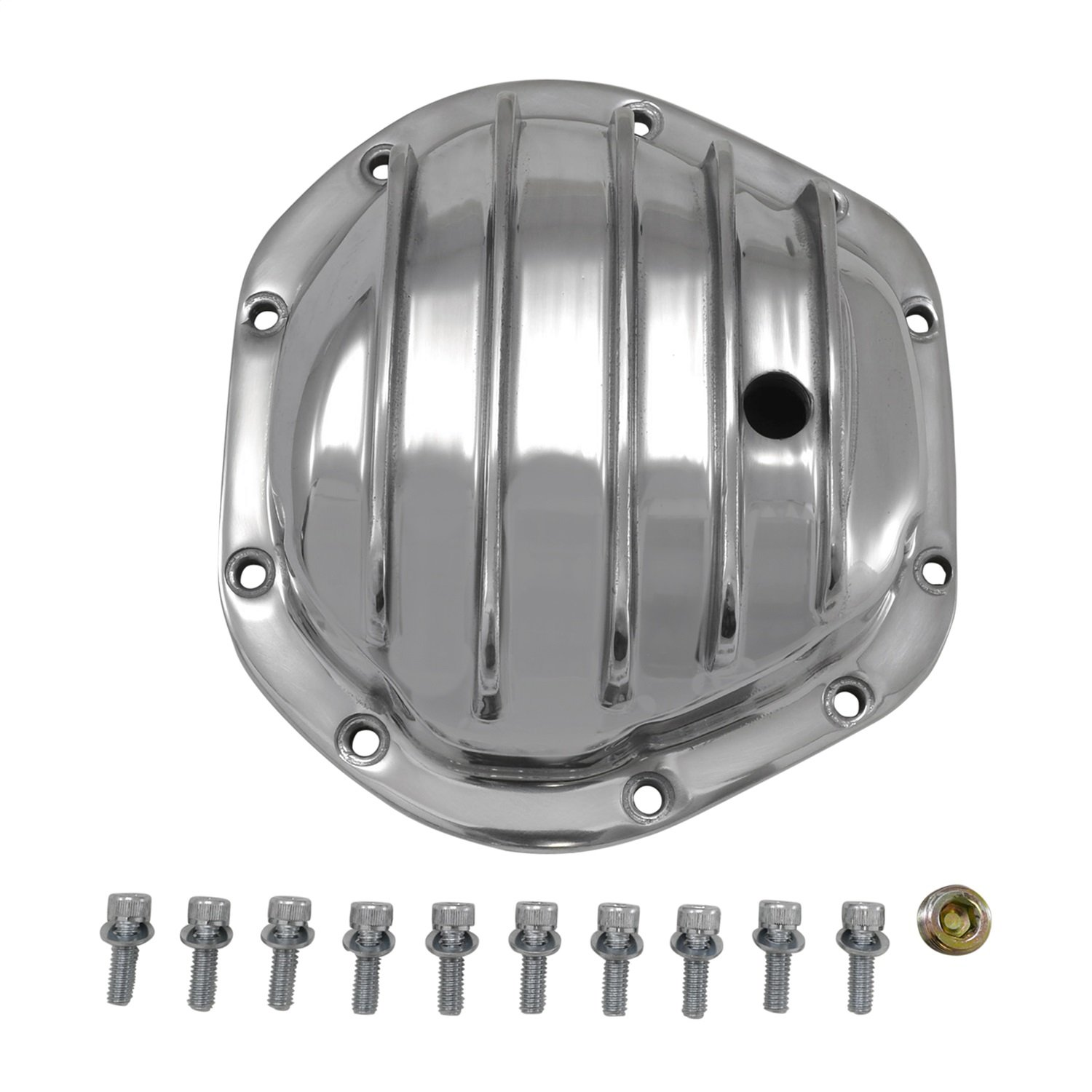 Yukon (YP C2-D44-STD) Polished Aluminum Replacement Cover for Dana 44 Differential