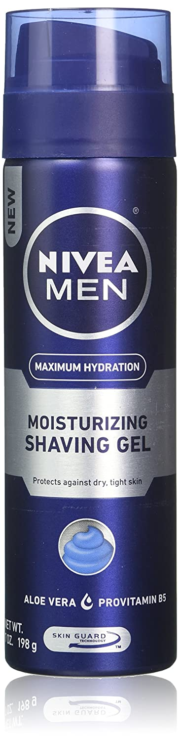 Nivea For Men Mild Shaving Gel (Case of 6) Beiersdorf Inc