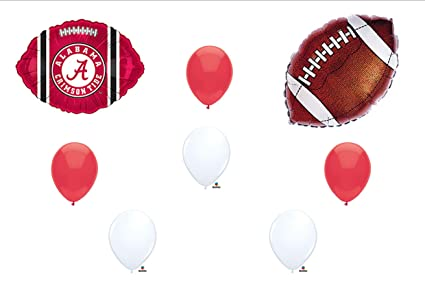 Amazon Com University Of Alabama Crimson Tide Football Birthday