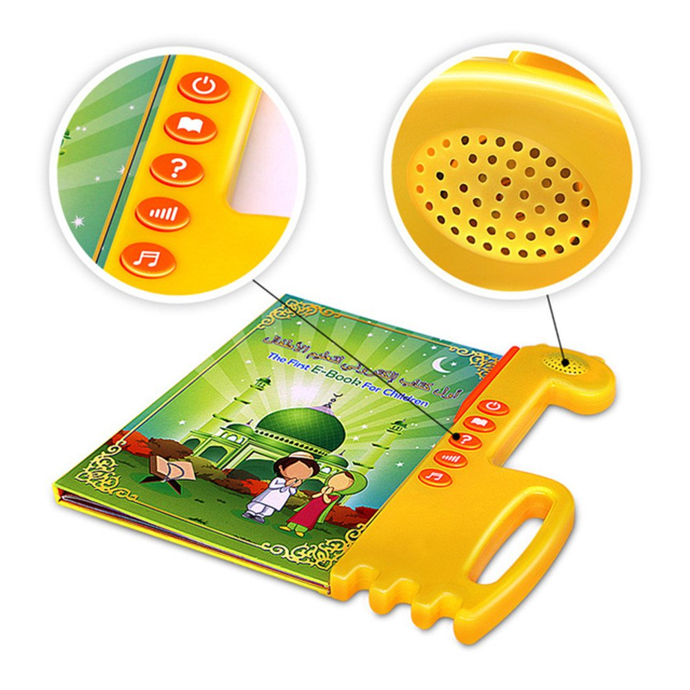 YOOMUN Muslim Islamic Reading Machine Quran Electronic, English&Arabic Eord, The First Children E-book- Best Gift Toy by 3SRBT2017042 (Image #2)