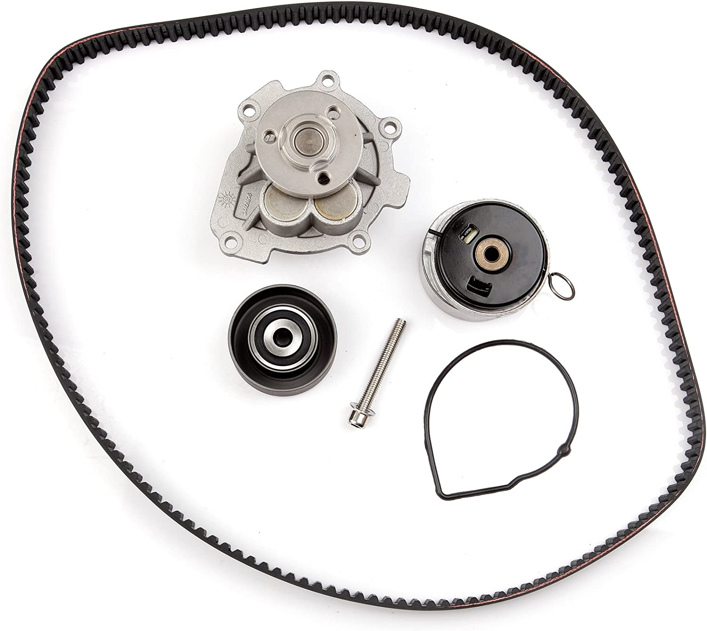automuto correa dentada bomba de agua Kit para Chevrolet Aveo Cruze Sonic aveo5 Pontiac G3 Wave Saturn Astra Suzuki Swift + 1.6L 1.8L tckwp338: Amazon.es: Coche y moto