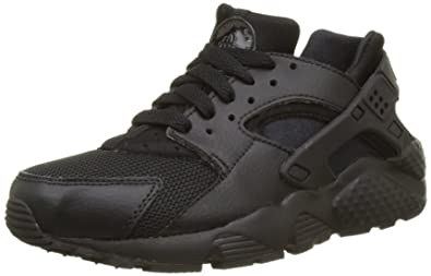 newest 1d66e b151a Nike Huarache Run (GS), Chaussures de Running Mixte Enfant, Noir Black,