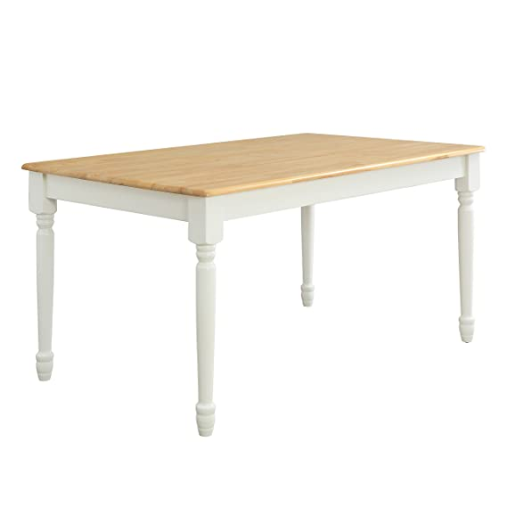 Lane Farmhouse Dining Table, Multiple Finishes (White)