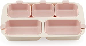 Nestique One Plate Eco-Friendly Meal Tray (Vanilla Pink)