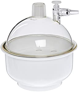 Kartell 243025 Small Plastic Vacuum Desiccator, 141mm Size