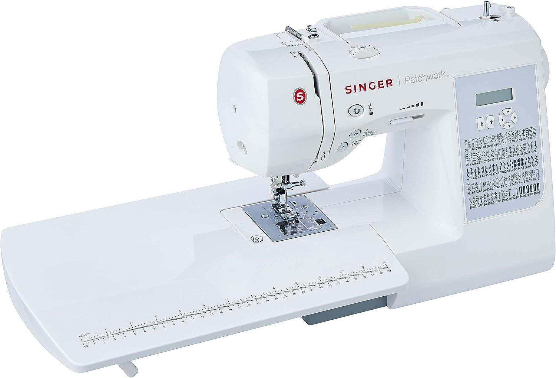 Máquina de Costura Eletrônica, Patchwork 7285, 110v, Singer por Singer