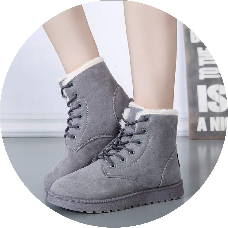 Show-Show-fashion winter Stiefel Stiefeletten Damen Stiefeletten Winterstiefel Stiefeletten Stiefel Stiefel Stiefeletten Stiefel halten warm Große Stiefel 2957b8