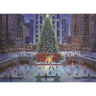 Ravensburger NYC Christmas 1000 PC Puzzle: Toys & Games