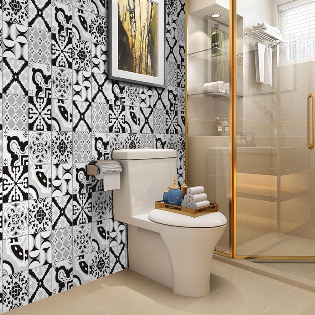 Revêtement mural salle de bain design pas cher ( cliquez pour plus de détails )