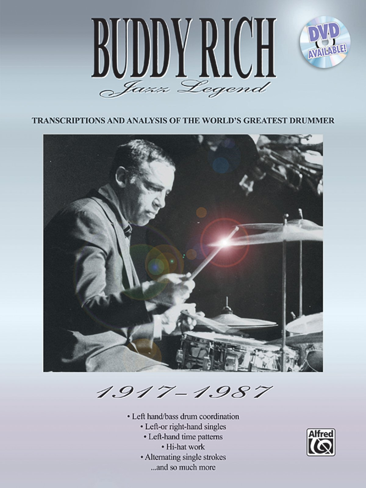 Download Buddy Rich -- Jazz Legend (1917-1987): Transcriptions and Analysis of the World's Greatest Drummer PDF