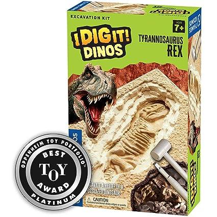 d77f07076 Thames & Kosmos I Dig It! Dinos T. Rex Excavation | Science Experiment Kit