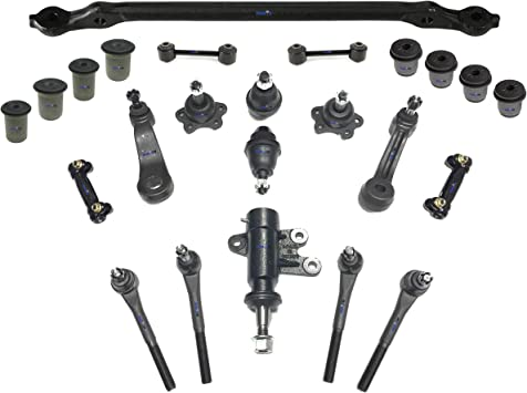 PartsW 4 Pc Suspension Kit for C1500 C2500 Express 1500 /& 2500 Tahoe Savana 1500 /& 2500 Yukon Front Upper /& Lower /& Lower Ball Joints