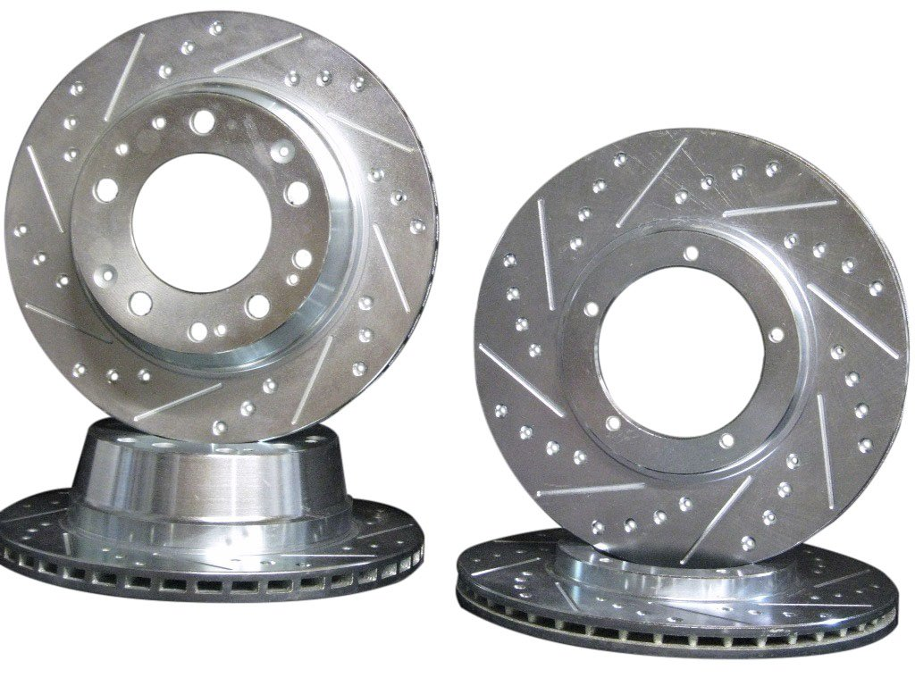 Amazon.com: 1987 1988 1989 1990 1991 Porsche 944 Turbo 944S2 944 Front & Rear Brake Disc Rotors +Hawk HPS Pads: Automotive