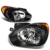 DNA MOTORING HL-OH-048-BK-AM Headlight Assembly Driver and Passenger Side