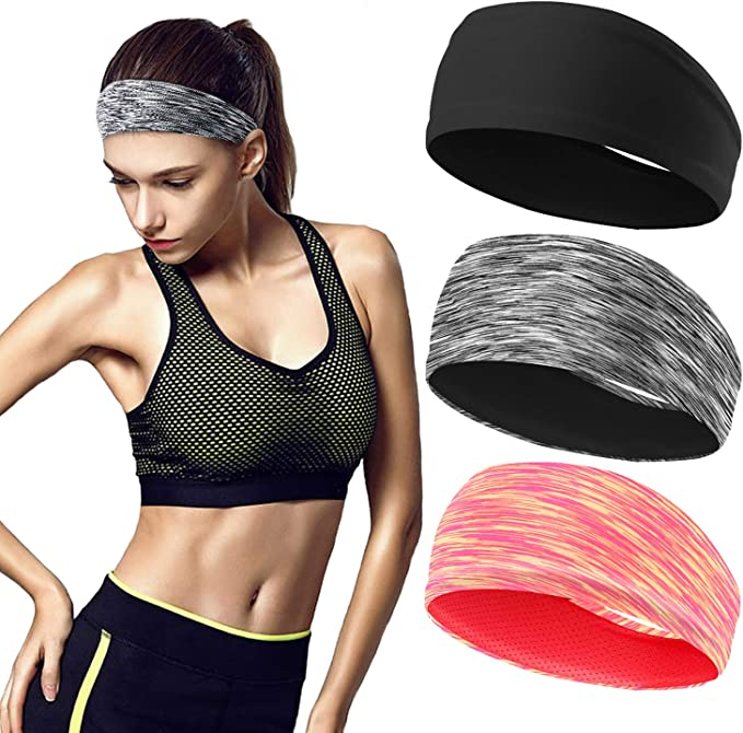 Details about  /Anti Slip Yoga Hair Bands Polyester Cycling Daily Multi Function Sports Fitness
