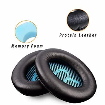 ... espuma con efecto memoria para auriculares Bose QuietComfort15 QC2 QC15 QC25 QC35 AE2, AE2i, AE2 inalámbricos, auriculares AE2-W: Amazon.es: Electrónica