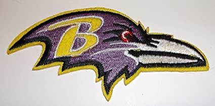 """6e830c69657e65 Image Unavailable. Image not available for. Color: Baltimore Ravens Light  Purple Embroidered Patch~4"""" ..."""