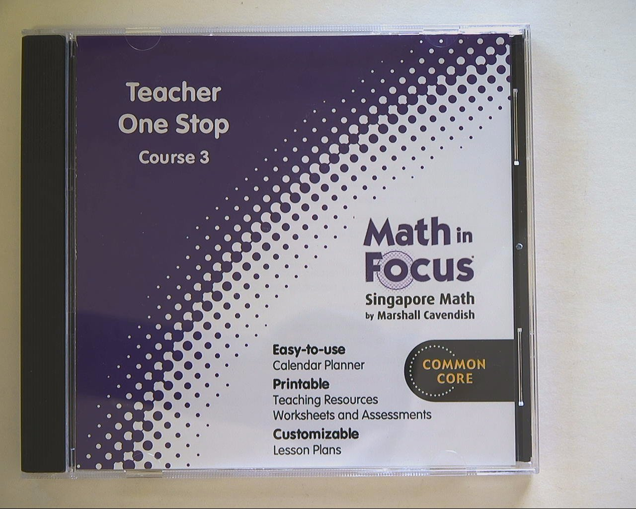 Amazon Math In Focus Singapore Math Teacher One Stop Course 3