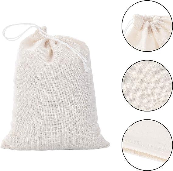 Custom logo print jewelry Bag let the adventure begin Set of 200 Cotton Muslin Bag Wedding favor Bag