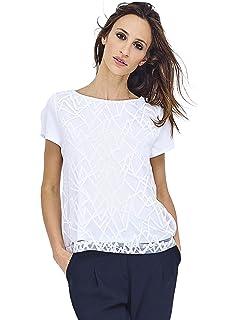 T Shirt Mado Et Les Polo Femme Autres Col Dentelle tdrxCsQh