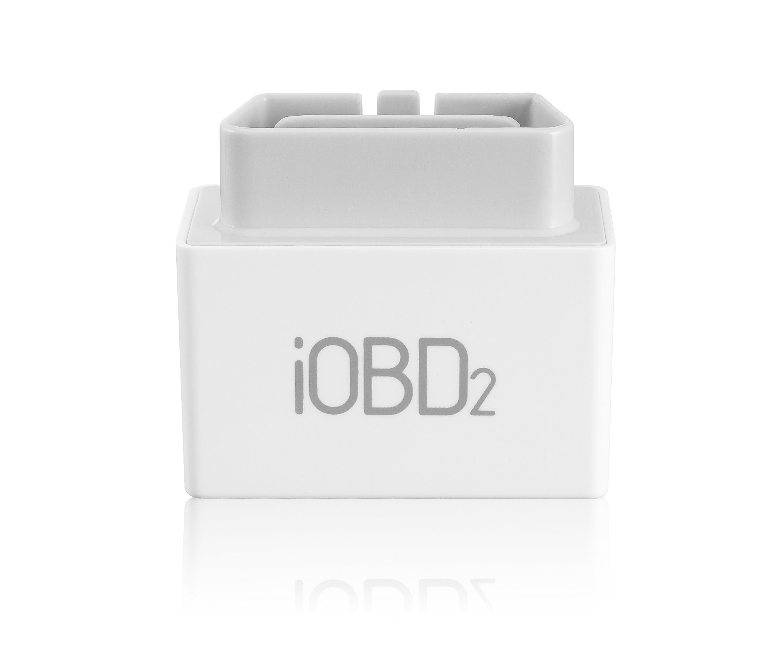Daoming IOBD2 MFI Bluetooth EOBD OBD2 Car Diagnostics Tool For iPhone & Android Devices - White