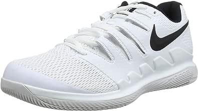 Nike Air Zoom Vapor X HC AA8030-900 Black/Multi Color Men's Tennis Shoes