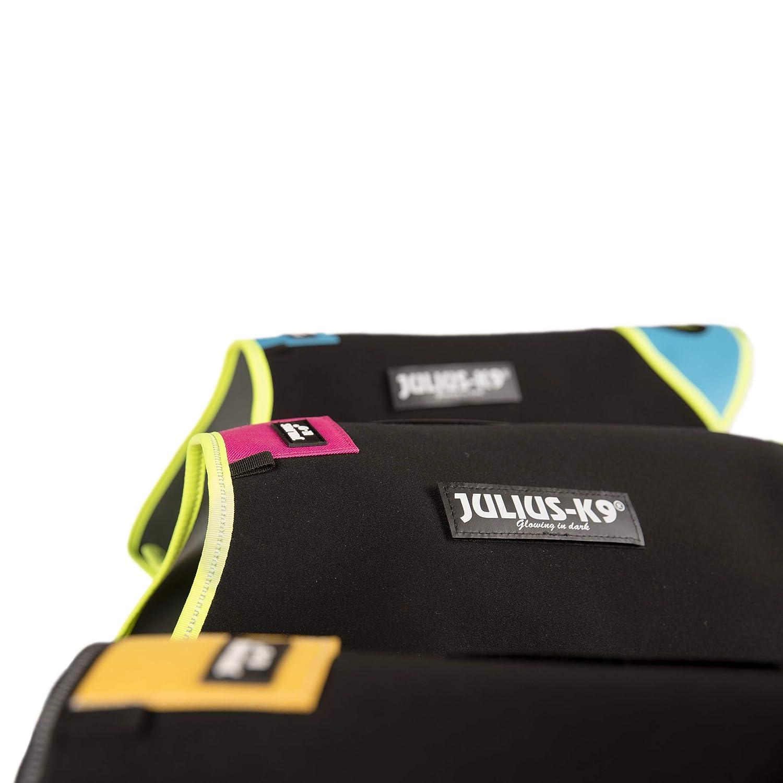 XS IDC Neoprene Dog Jacket Black and Pink Size