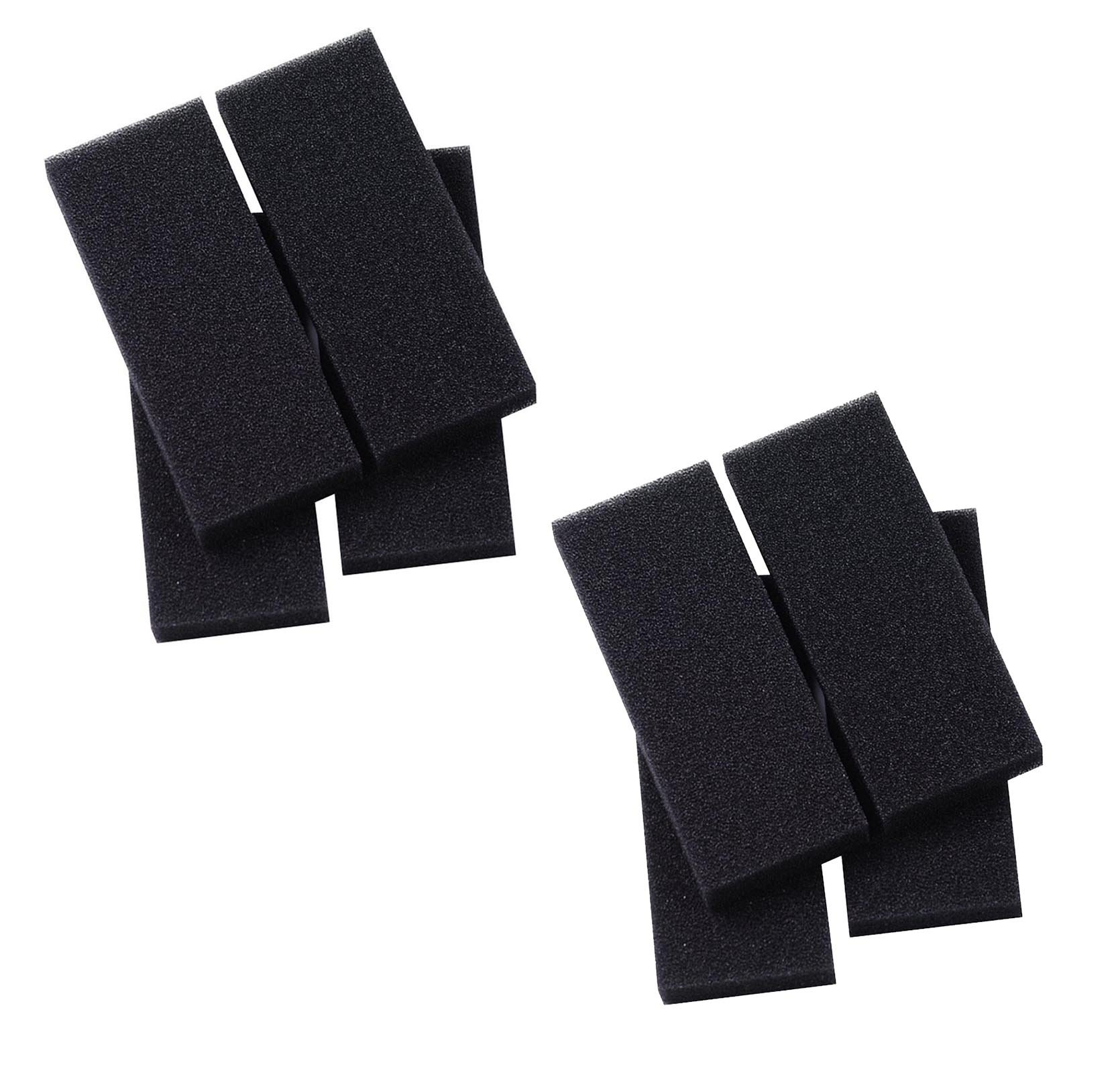 Danner 12305 Replacement Bio Foam Pads for Pondmaster 2000 Pond Filter, 8-Pack