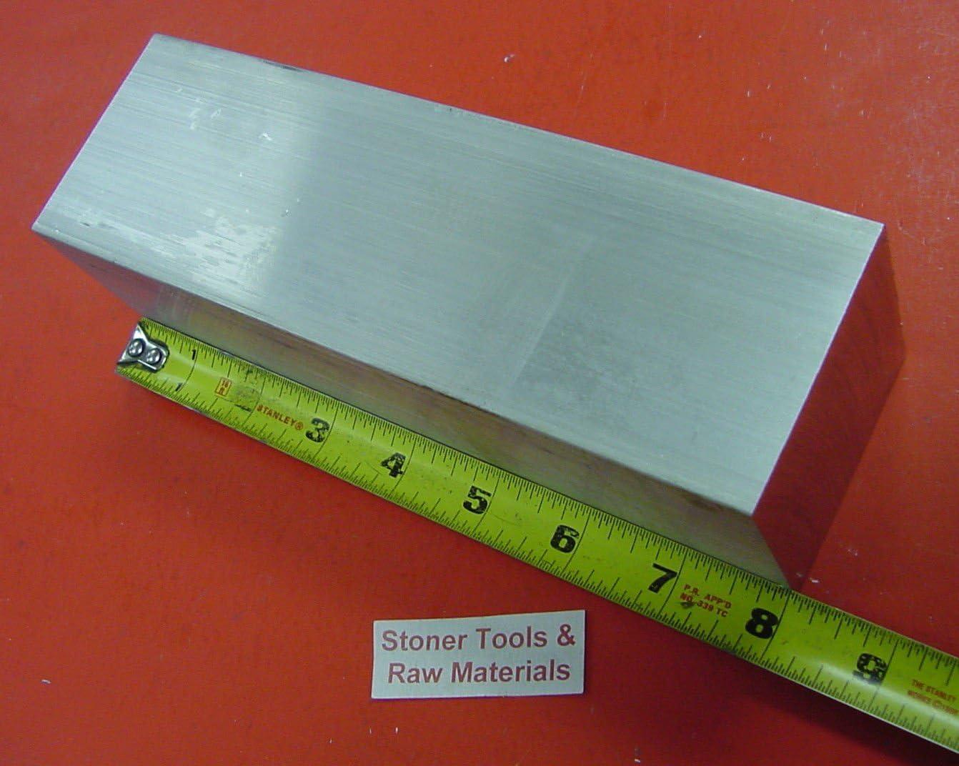 "2-1//2/"" X 2-1//2/"" ALUMINUM 6061 SQUARE SOLID FLAT BAR 4/"" long T6511 Mill Stock 2.5"