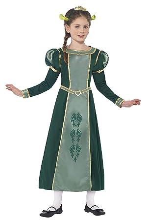 Smiffys - Disfraz princesa Fiona de Shrek, color verde (20491M): Amazon.es: Juguetes y juegos