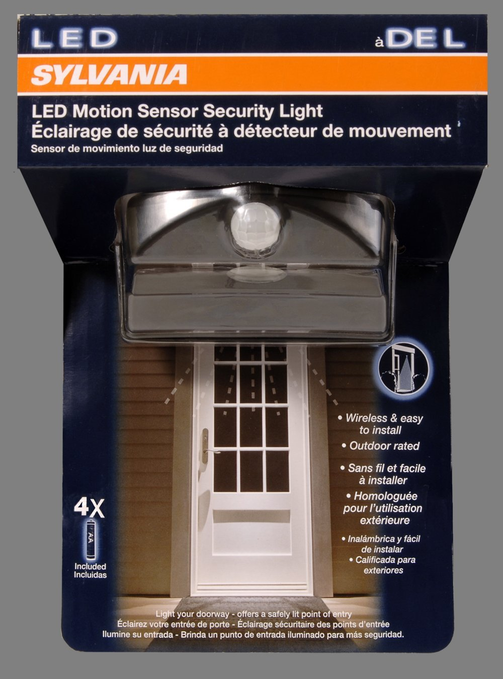 Amazon.com: Sylvania 72343 LED Motion Sensor Door Light: Home Improvement