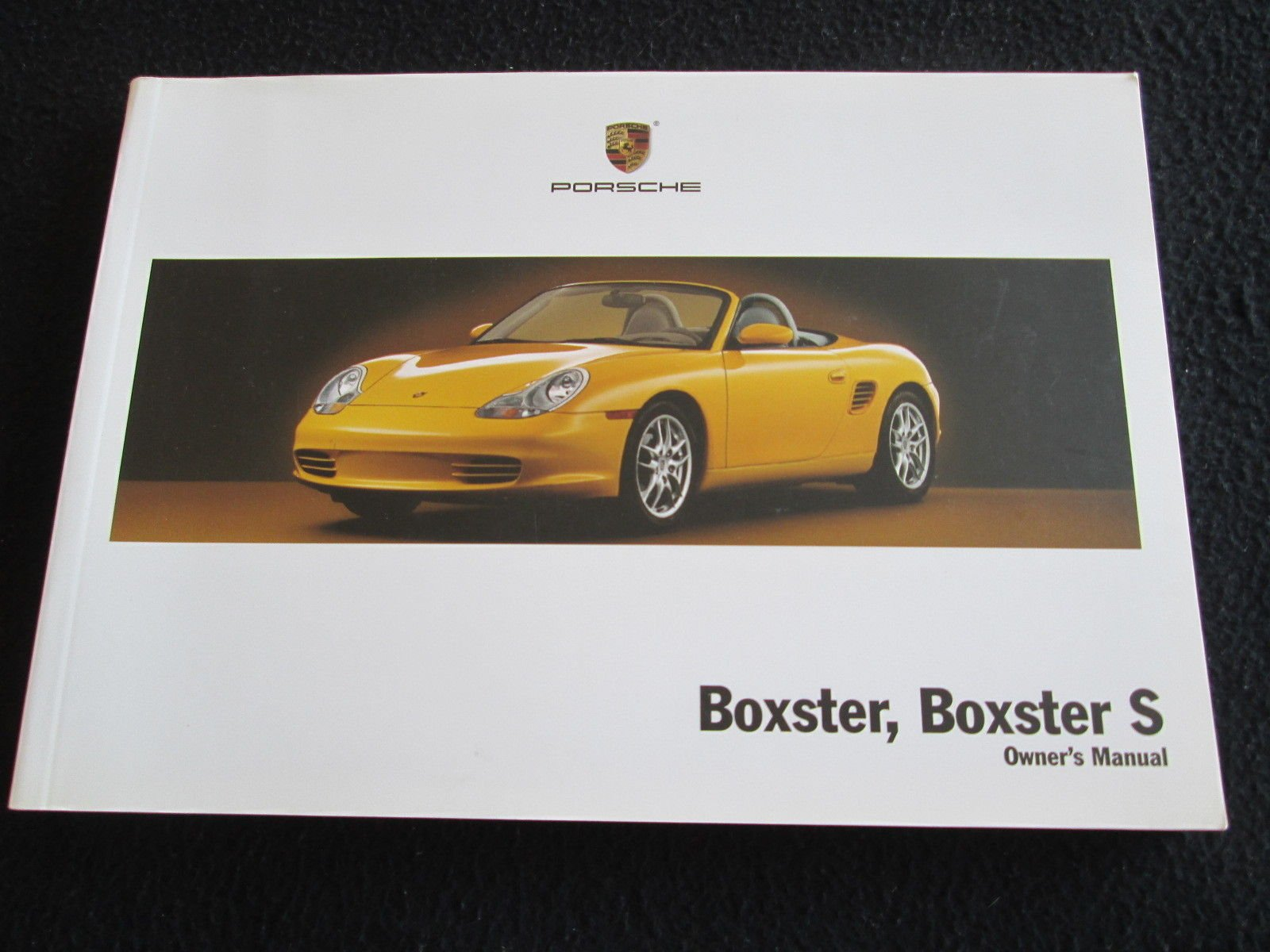 2003 porsche boxster boxster s owners manual amazon com books rh amazon com 1997 porsche boxster repair manual 1997 Porsche Boxster Review