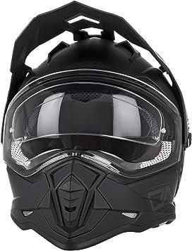 O Neal Motorrad Helm Enduro Adventure Street Ventilationsöffnungen Für Maximalen Luftstrom Kühlung Integrierte Sonnenblende Sierra Ii Helmet Flat Erwachsene Schwarz Größe Xs Auto