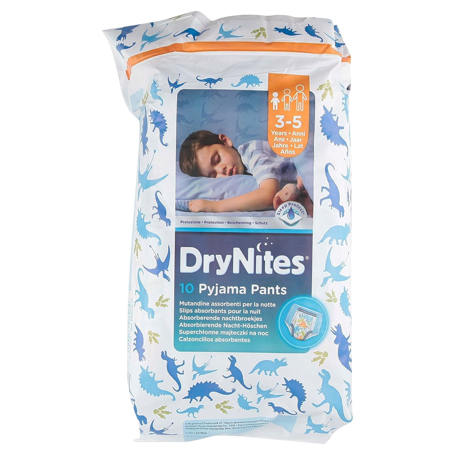 DryNites 3-5 Years Boys 10 Pyjama Pants Live in Morrisons