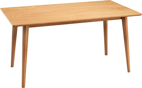 mecor 47 Inch Oak Dining Table