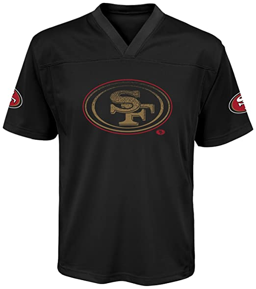 new concept 85f57 4786b Outerstuff NFL Teen-Boys San Francisco 49ers Color Rush Fashion Top