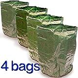 4 x Potato Planter Bag Grow Your Own Patio Garden Reuse Vegetable Tub Greenhouse 42 Litre