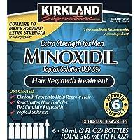 KS Minoxidil 5% 6 Months Supply for Men