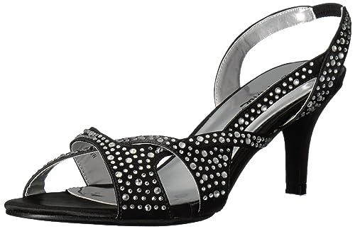 3848300c52f Annie Shoes Women s Long Time Dress Sandal Black 6 ...