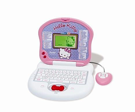 Clementoni 62103 - Ordenador portátil, diseño de Hello Kitty