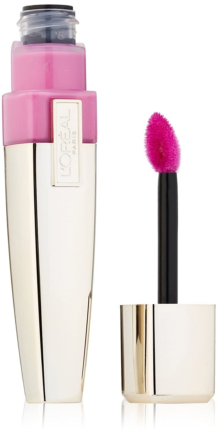 L'Oreal Paris Colour Caresse Wet Shine Lip Stain, Stubborn Plum, 0.21 Ounces L' Oreal - Cosmetics 071249212677