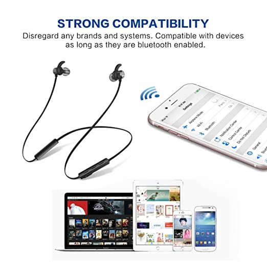Syllable Auricolari Bluetooth Magnetici Cuffie Bluetooth Sport Auricolare  Bluetooth in ear D3X per iPhone 77c78b3b08ea