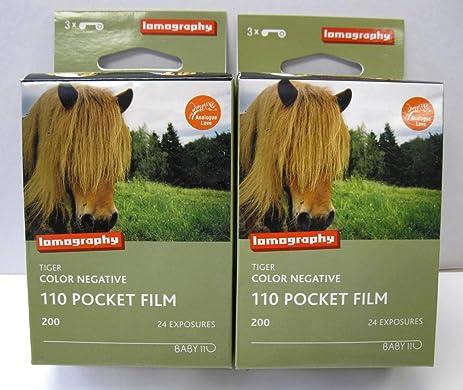 2 3 packs 6 rolls lomography tiger 110 format color print film 24 - Tiger Pictures To Color 2